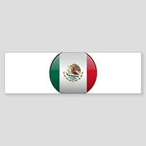 Mexican Button Sticker (Bumper)
