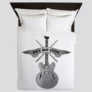 ROCK AND GROHL Queen Duvet