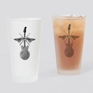 ROCK AND GROHL Drinking Glass