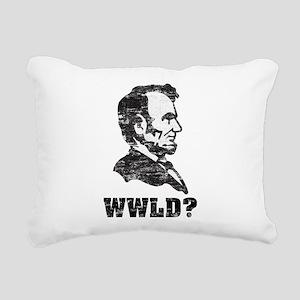 WWLD Rectangular Canvas Pillow