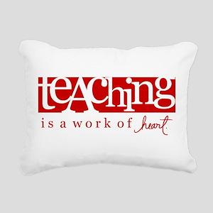 Teaching Rectangular Canvas Pillow