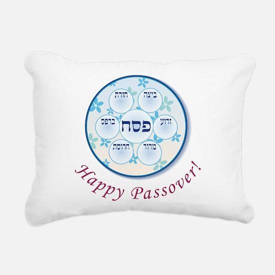 Passover Dish Rectangular Canvas Pillow