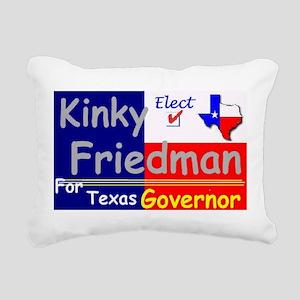 Kinky Rectangular Canvas Pillow