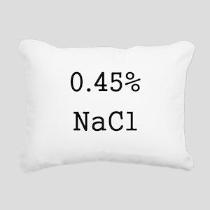 Half Normal Rectangular Canvas Pillow