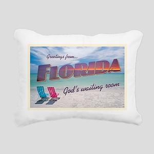 Florida - Rectangular Canvas Pillow