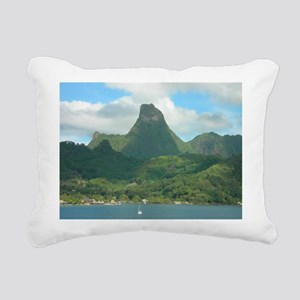 Moorea Rectangular Canvas Pillow