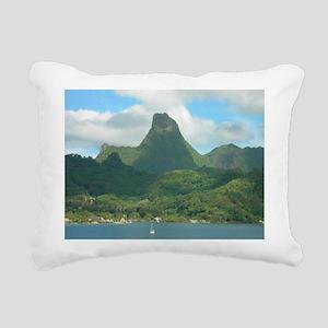 Moorea Rectangular Canvas Pillow