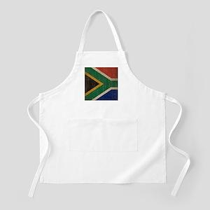 Vintage South Africa Flag Apron
