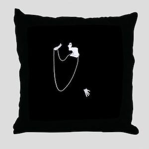 1920s Glamour Louise Brooks Throw Pillow