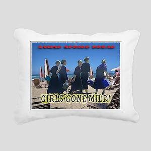 Girls Gone Mild Rectangular Canvas Pillow