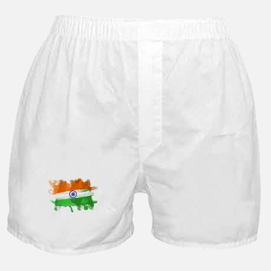 India Flag Boxer Shorts