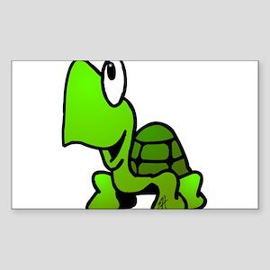 Turtle Sticker (Rectangle)