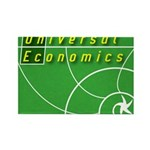 UnEc logo Rectangle Magnet
