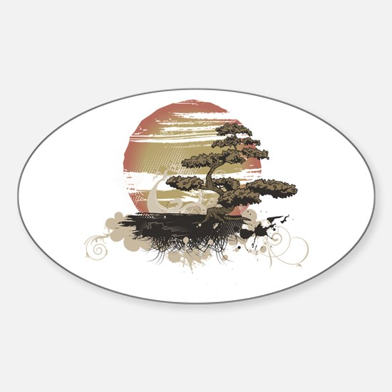 Bonsai Sticker (Oval)