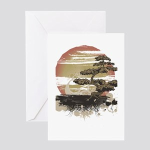 Bonsai Greeting Card
