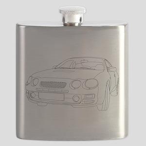 Car Outline Flask