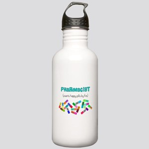 pharmacist counts happy pills Stainless Water