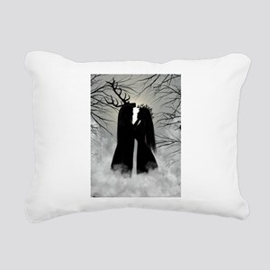 Solstice God, Goddess Rectangular Canvas Pillow
