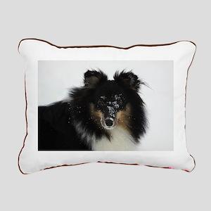 """""""Sheltie 1"""" Rectangular Canvas Pillow"""