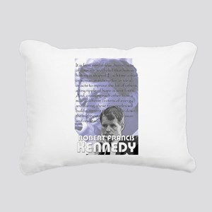 Bobby Kennedy Rectangular Canvas Pillow