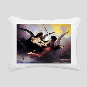"""""""A Soul in Heaven"""" Rectangular Canvas Pillow"""