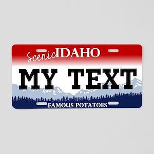 Scenic Idaho - Famous Potatoes License Plate