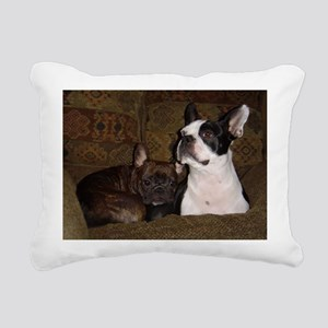 Best Buds Rectangular Canvas Pillow