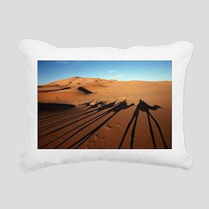 Moroccan Rectangular Canvas Pillow