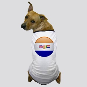 SA republic button Dog T-Shirt