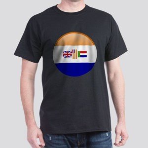 SA republic button Dark T-Shirt