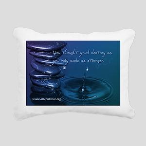 Stronger Rectangular Canvas Pillow
