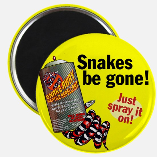 Snake Repellant Ad Magnet