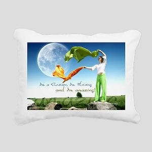 Thriving Rectangular Canvas Pillow