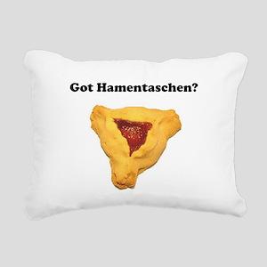 Got Hamentaschen? Rectangular Canvas Pillow