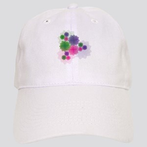 Colorful Flower Designs Cap