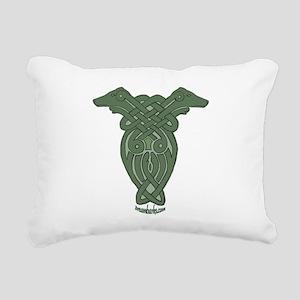 Celtic Greyhound Rectangular Canvas Pillow