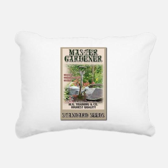 Master Gardener seed packet Rectangular Canvas Pil