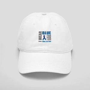 Blue Awareness Ribbon Customized Cap