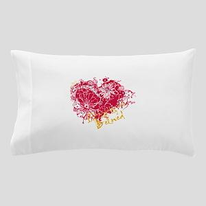 Heart Design Pillow Case