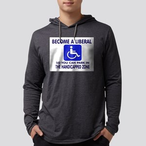 LIBERAL Mens Hooded Shirt