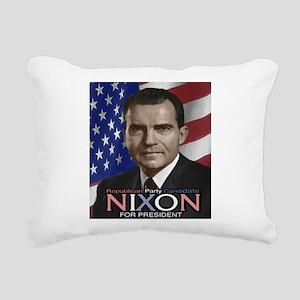 NIXON Rectangular Canvas Pillow