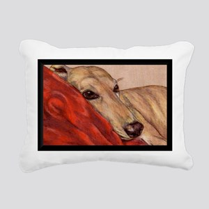 Just Restin' Rectangular Canvas Pillow
