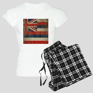 Vintage Hawaii Flag Women's Light Pajamas