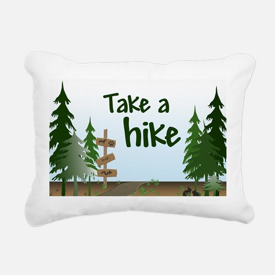 Take a hike Rectangular Canvas Pillow