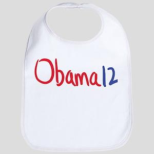 Vote, elect Obama 12 Bib