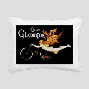 Cycles Gladiator Rectangular Canvas Pillow