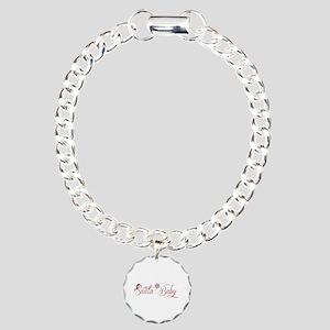Santa Baby Charm Bracelet, One Charm