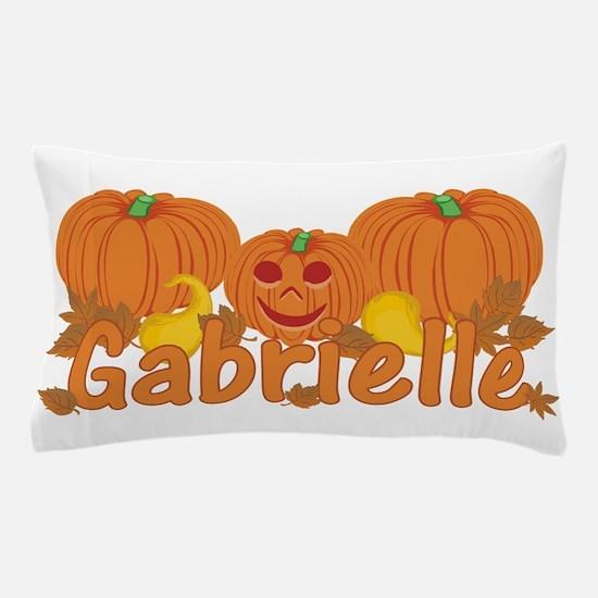 Halloween Pumpkin Gabrielle Pillow Case
