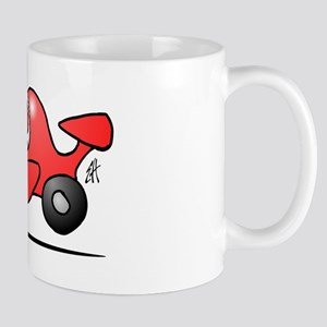 Red race car Mug