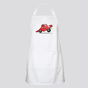 Red race car Apron